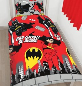 DC Comics DC Comics Batman & Robin Duvet Cover Set