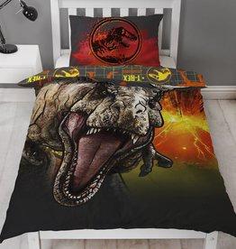 Jurassic Worlds Duvet Cover Set T-Rex