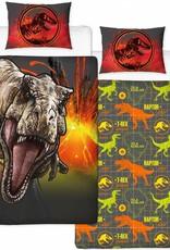Jurassic World Dekbedovertrek T-Rex