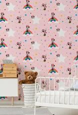 Disney Minnie Mouse Behang Regenboog