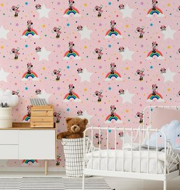 Disney Minnie Mouse Wallpaper Rainbow