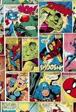 Marvel Marvel Comics Behang Striphelden