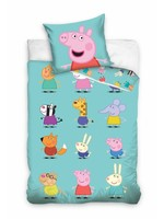 Peppa Pig Peppa Pig Duvet Cover Set Characters