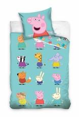 Peppa Pig Peppa Pig Dekbedovertrek Karakters