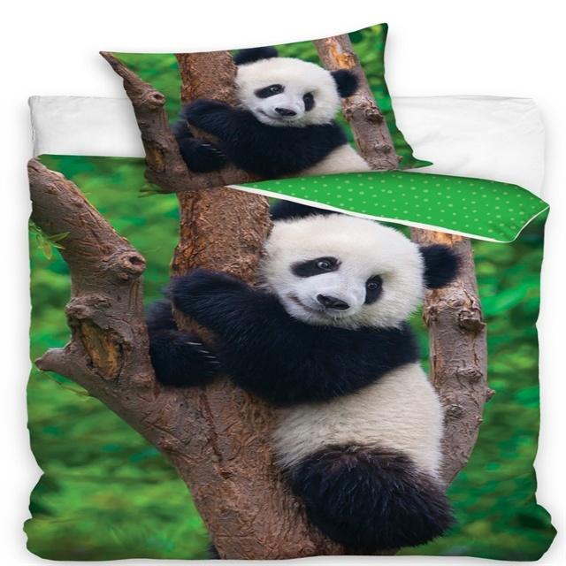 CharactersMania Panda Duvet Cover Set Tree
