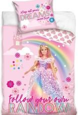 Barbie Barbie Duvet Cover Set Rainbow