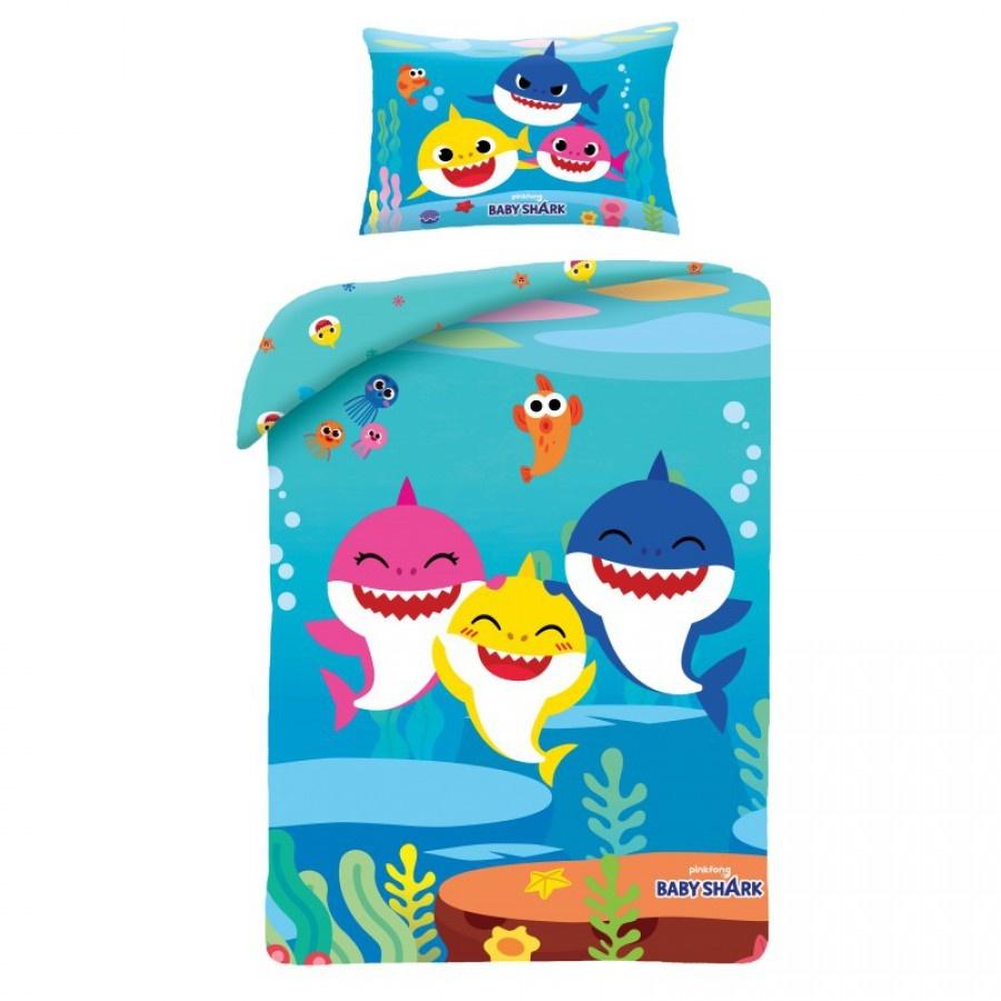Pinkfong Baby Shark Junior Dekbedovertrek