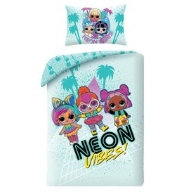 L.O.L. Surprise L.O.L. Surprise Junior Duvet Cover Set Neon