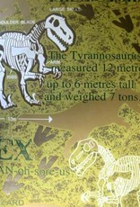 CharactersMania Dinosaurus Glow in the Dark Behang