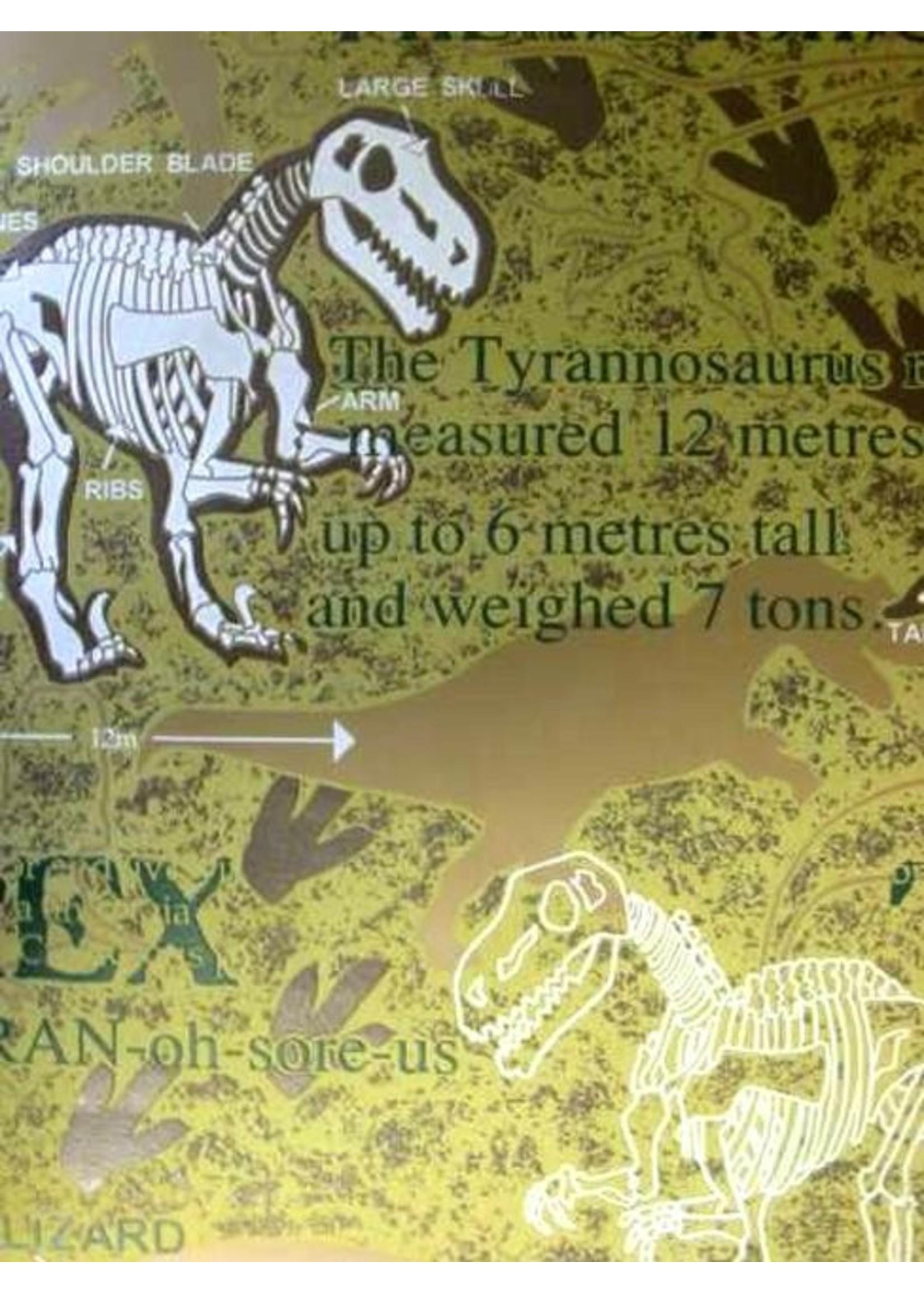 Dinosaurus Glow in the Dark Behang