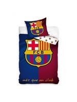 FC Barcelona FC  Barcelona Duvet Cover Set Mes Que Un Club Logo