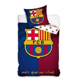 FC Barcelona FC Barcelona Dekbedovertrek Mes Que Un Club Logo