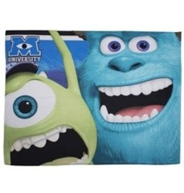 Disney Pixar Monsters Inc Fleece Deken