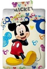 Mickey Mouse Dekbedovertrek 140x200 Katoen 8592753002094
