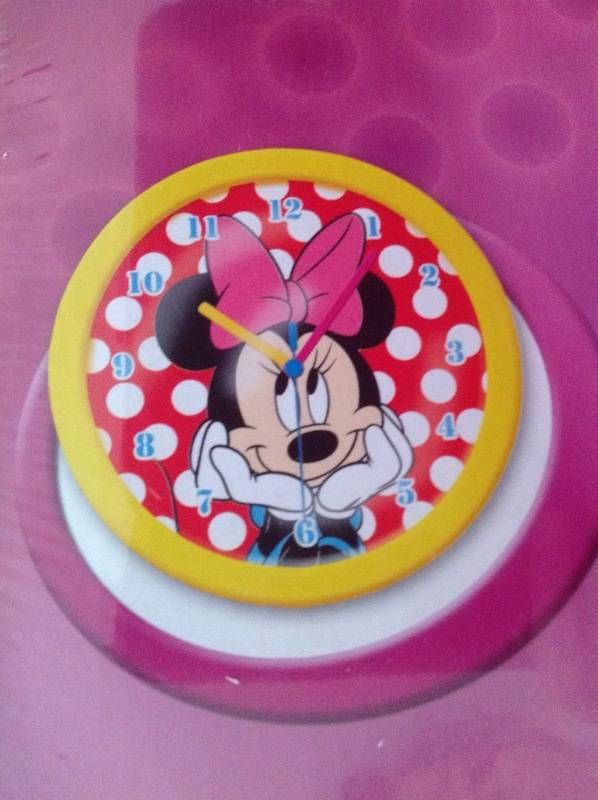 Minnie Mouse Klok MM13076