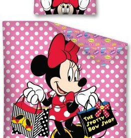 Minnie Mouse Dekbedovertrek Shopping 5901685602358
