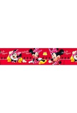 Disney Minnie Mouse Behangrand Rood