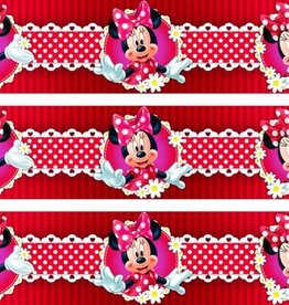 Disney Minnie Mouse Behangrand Bloem