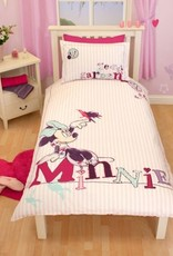 MINNIE MOUSE DEKBEDOVERTREK GLITTEREND 5055285330903