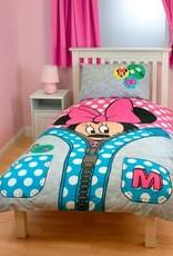 Disney Minnie Mouse Dekbedovertrek Rits