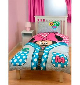 Disney Minnie Mouse Dekbedovertrek Rits