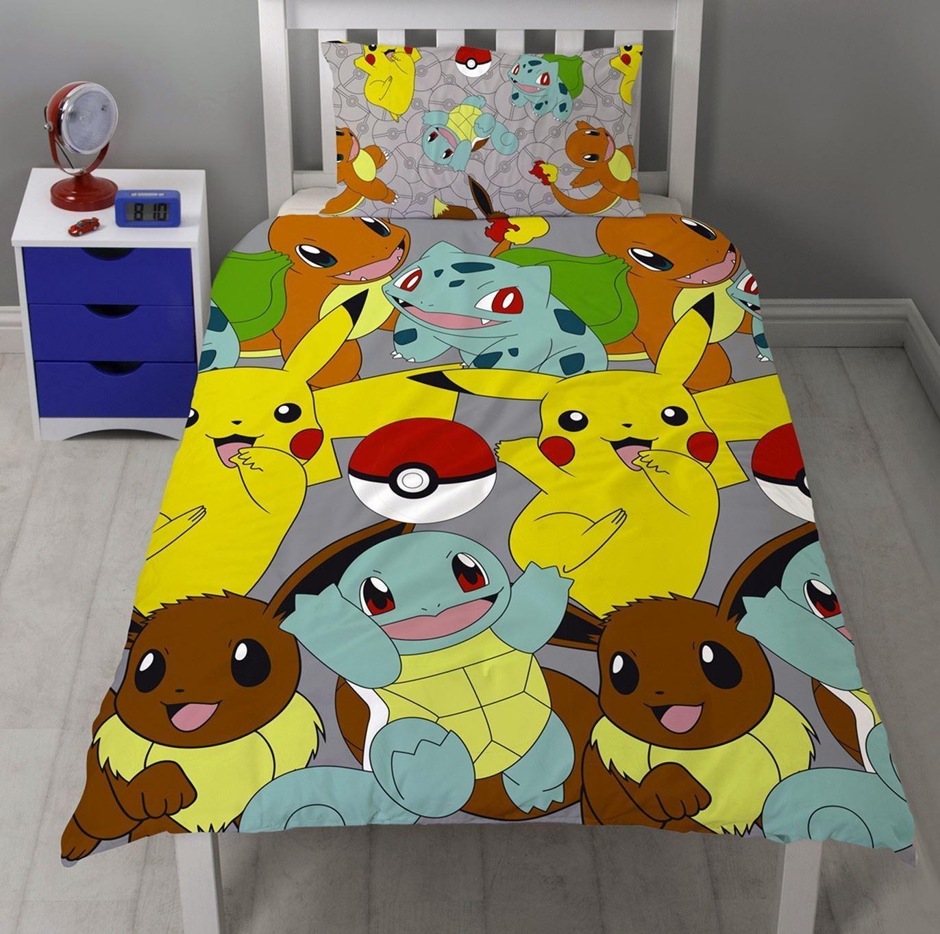 Pokémon Pokémon Dekbedovertrek Catch
