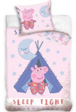 Peppa Pig Peppa Pig Dekbedovertrek Slaap Zacht