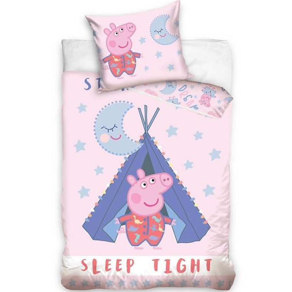 Peppa Pig Peppa Pig Duvet Cover Set Sleep Tight