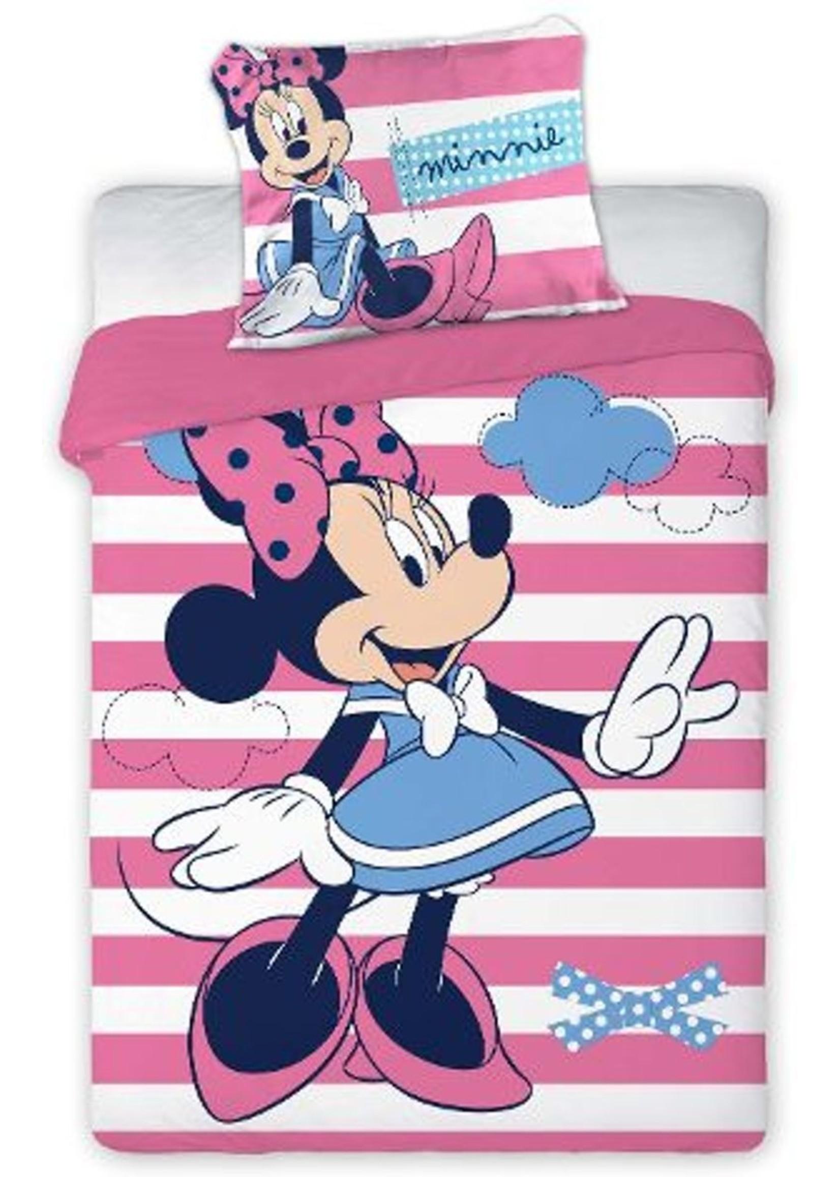 Disney Minnie Mouse  Junior Dekbedovertrek Blauwe Jurk