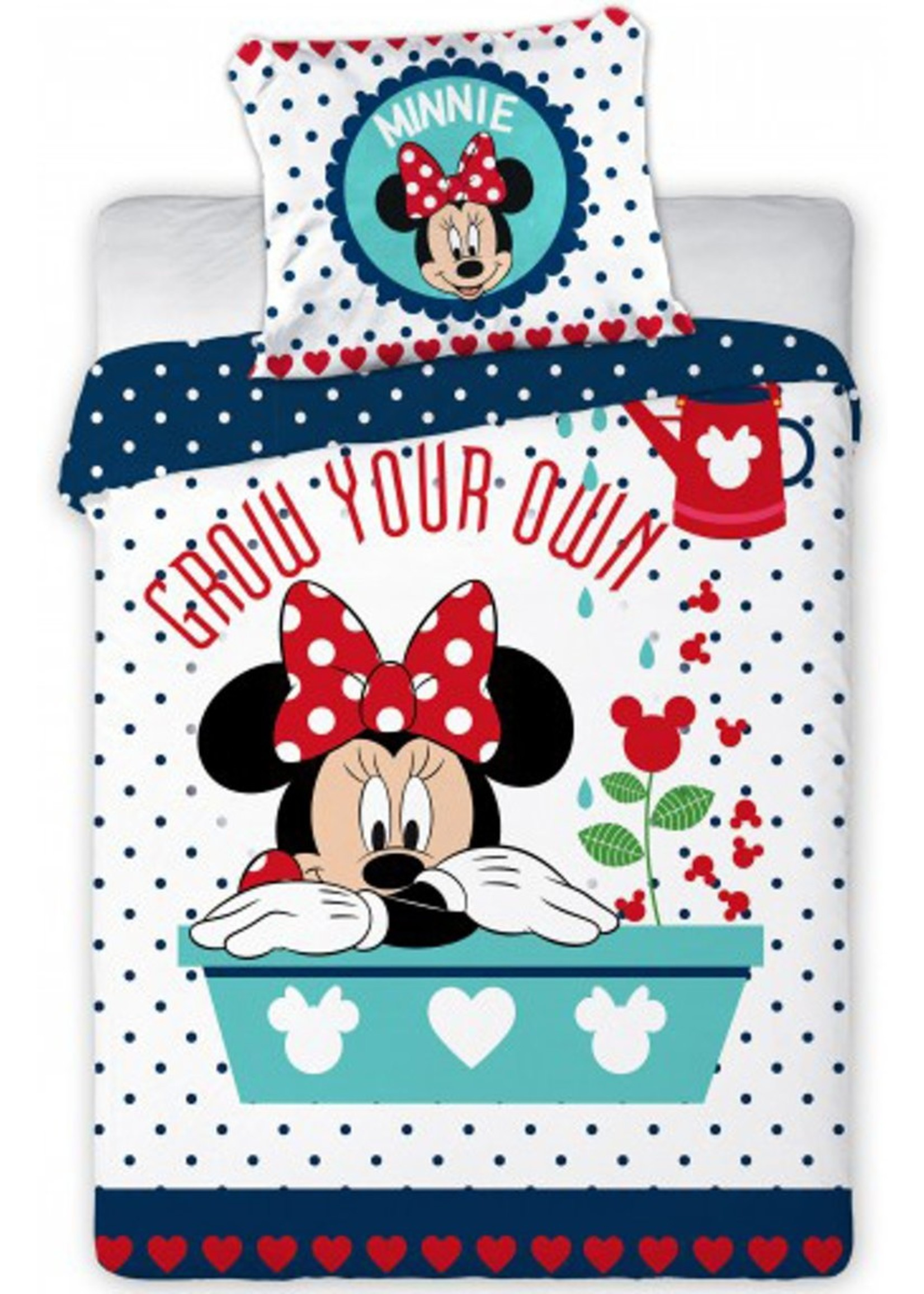 Disney Minnie Mouse  Junior Dekbedovertrek Grow Your Own