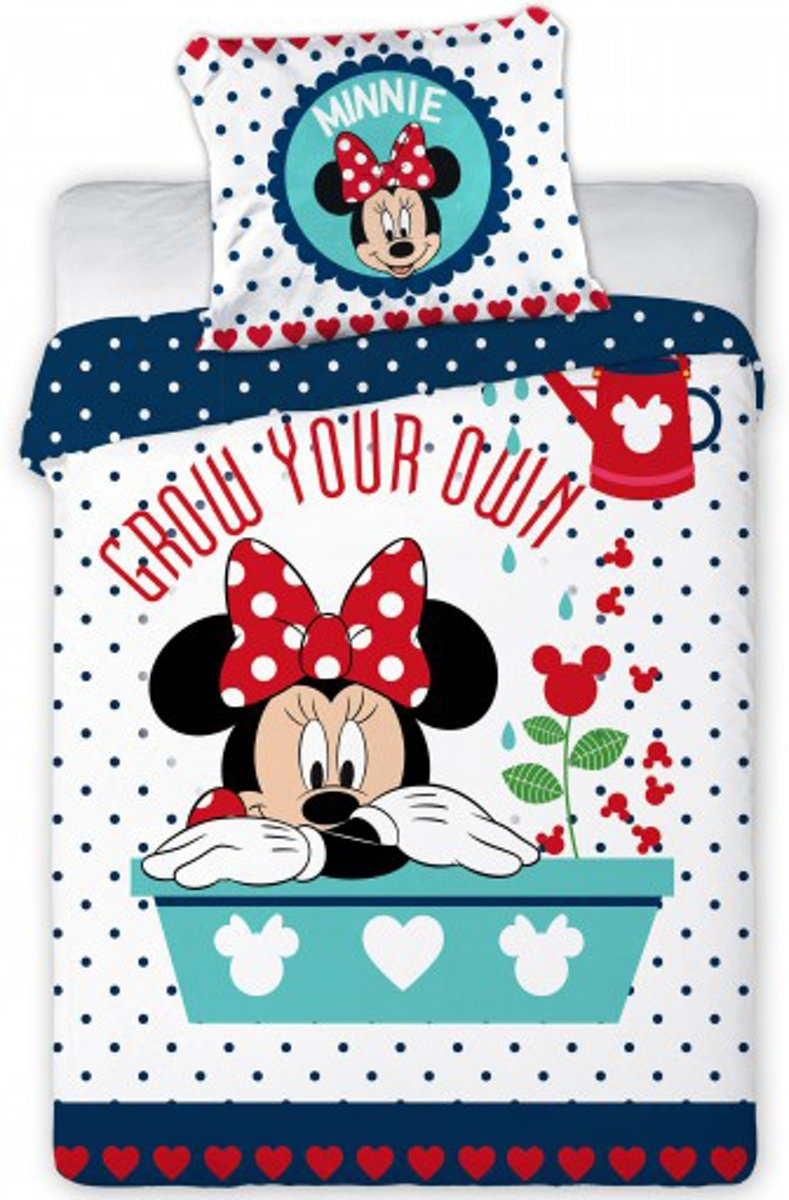 Disney Minnie Mouse  Junior Duver Cover Grow Your Own