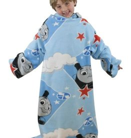 Thomas de Trein Fisher Price Thomas Fleece Deken Mouwen