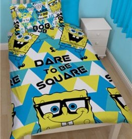 Nickelodeon SpongeBob Dekbedovertrek Square