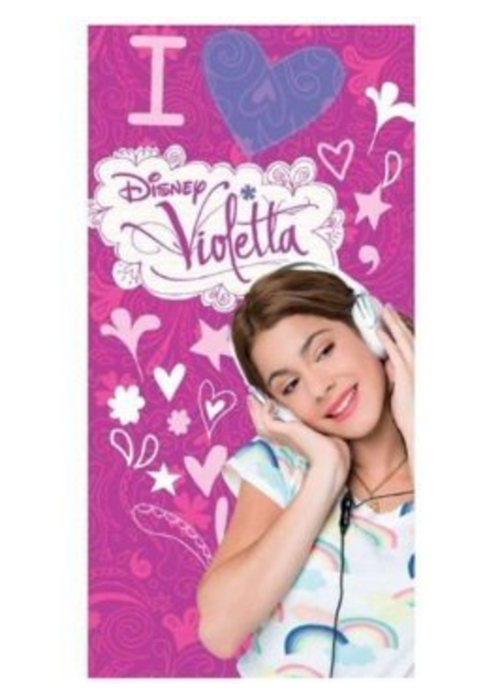Disney Violetta Handdoek