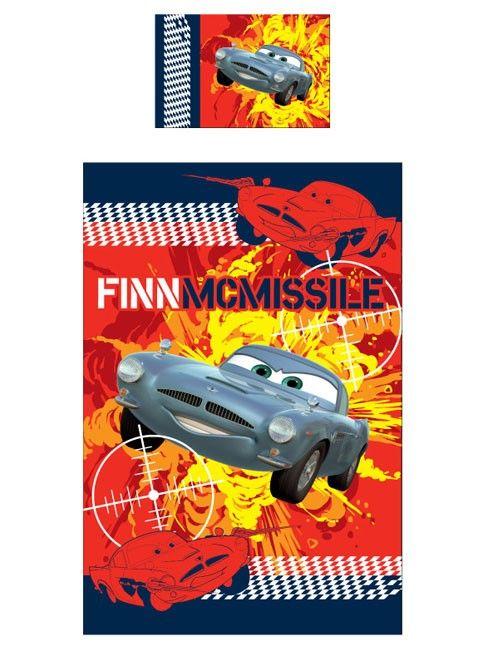 Cars Dekbedovertrek Cars 2 FinnMcMissile R CD03197