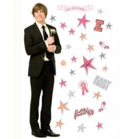 Disney HIGH SCHOOL MUSICAL DECORATIE STICKER TROY MAXI