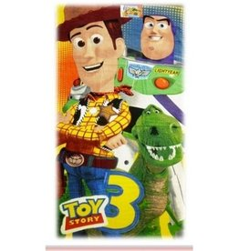 Toy Story Handdoek Buzz Woody Rex