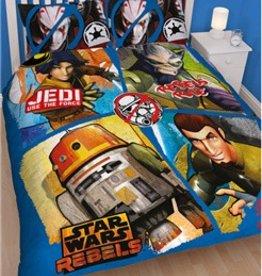 Star Wars Tweepersoons Dekbedovertrek Rebels