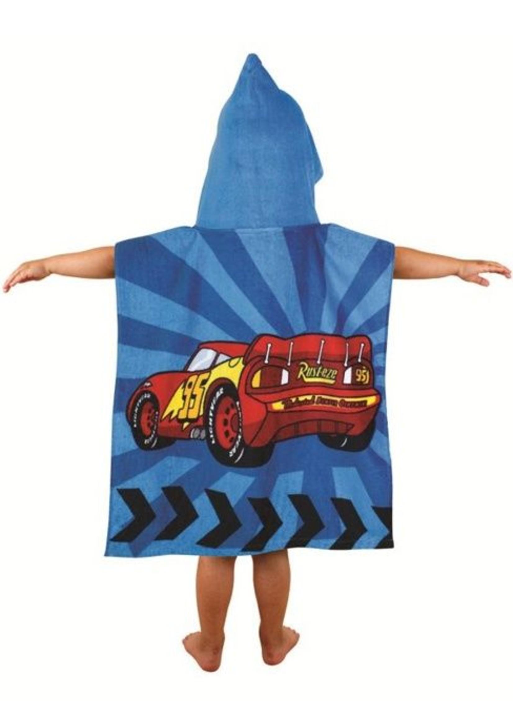 Cars Poncho Handdoek Vroom 5055285321642