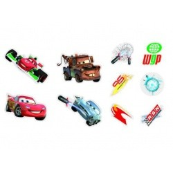 CARS DECORATIE STICKERS FOAM10 5410905241630