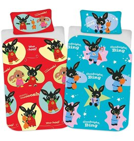 Bing Bunny Bing Bunny Junior Duvet Cover Set Hoppity Voosh Whoosh