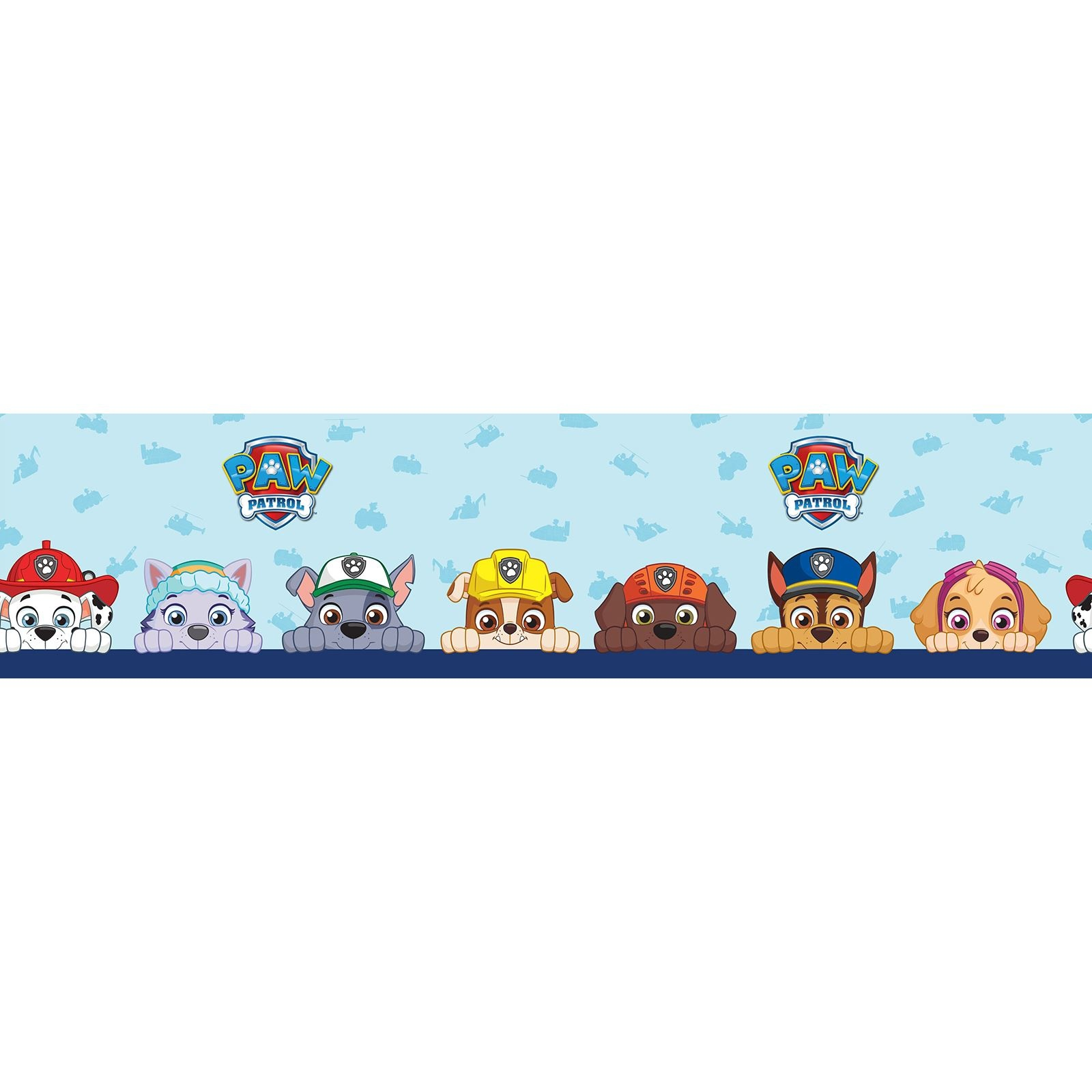 Nickelodeon Paw Patrol  Paw Patrol Wallpaper Border