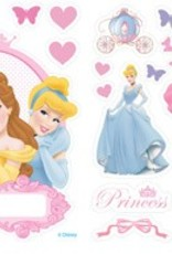 PRINCESS STICKER DECORATIE DEUR 5010432715408