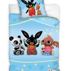 Bing Bunny Bing Bunny Junior Dekbedovertrek Blauw