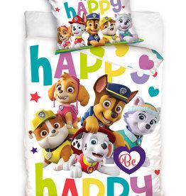 Nickelodeon Paw Patrol  Paw Patrol Junior Dekbedovertrek Happy