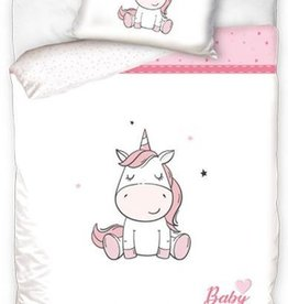 CharactersMania Baby Unicorn Eenhoorn Junior Dekbedovertrek