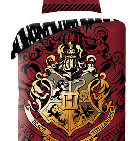 Warner Bros Harry Potter Duvet Cover Set Red