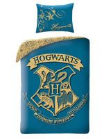 Warner Bros Harry Potter Duvet Cover Set Lightblue