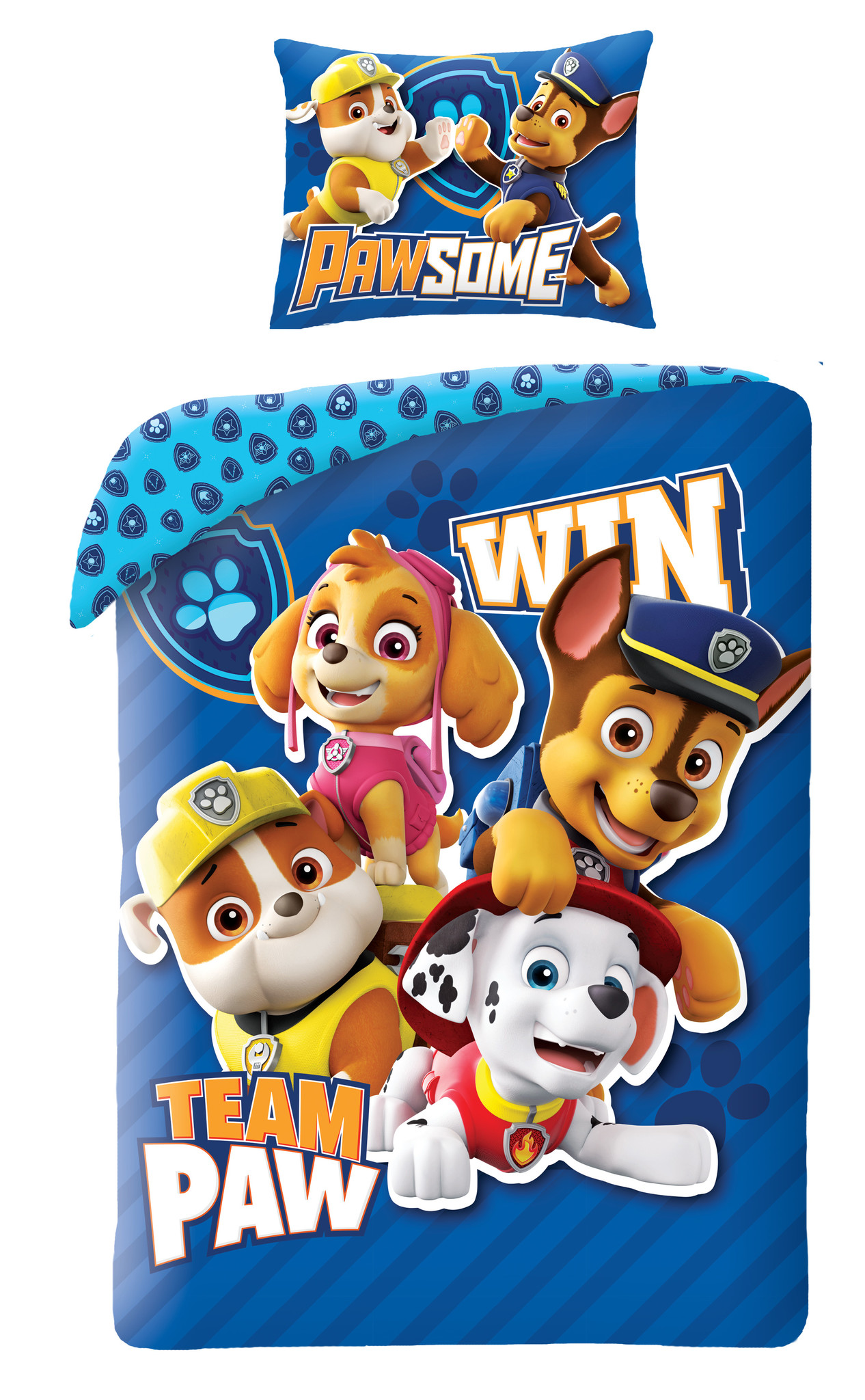 Nickelodeon Paw Patrol  Paw Patrol Dekbedovertrek Win