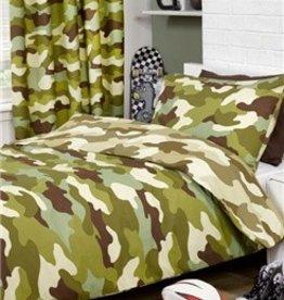 Camouflage Tweepersoons  Dekbedovertrek